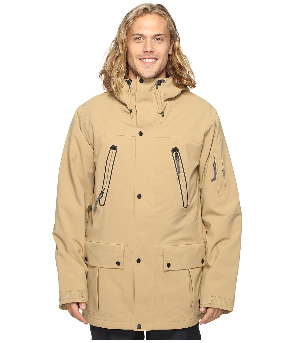O'Neill - Jeremy Jones Carve Jacket (Marl Brown) Men's Coat