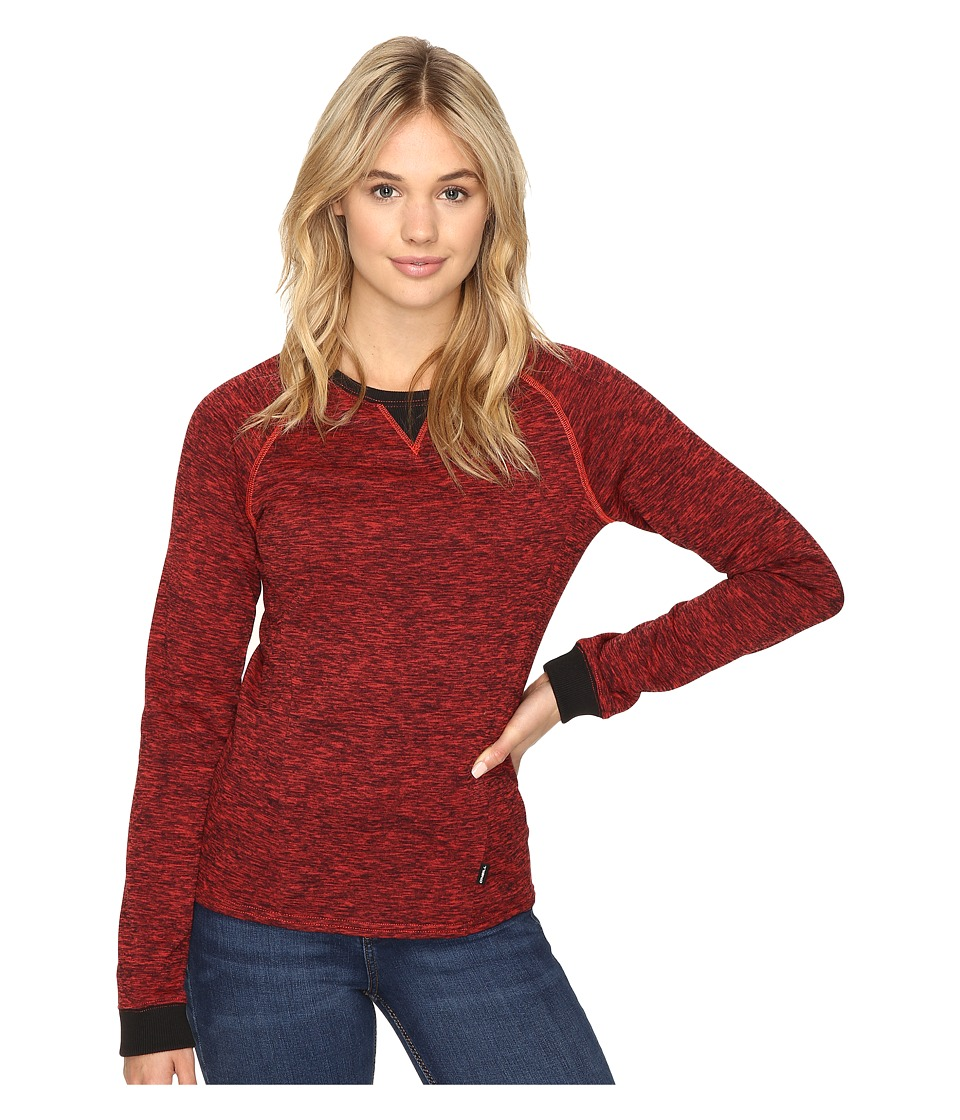 O'Neill - Oval Fleece (Poppy Red) Women's Fleece