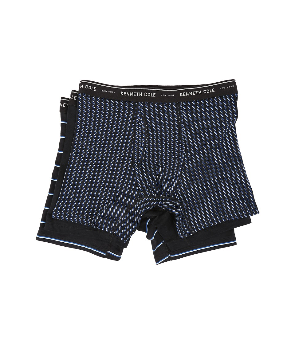 Kenneth Cole Reaction - Boxer Brief (Black Chevron) Men's Underwear
