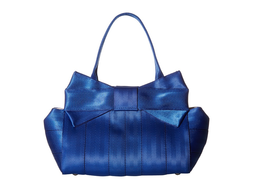 Harveys Seatbelt Bag - Bow Mini (Cobalt) Handbags