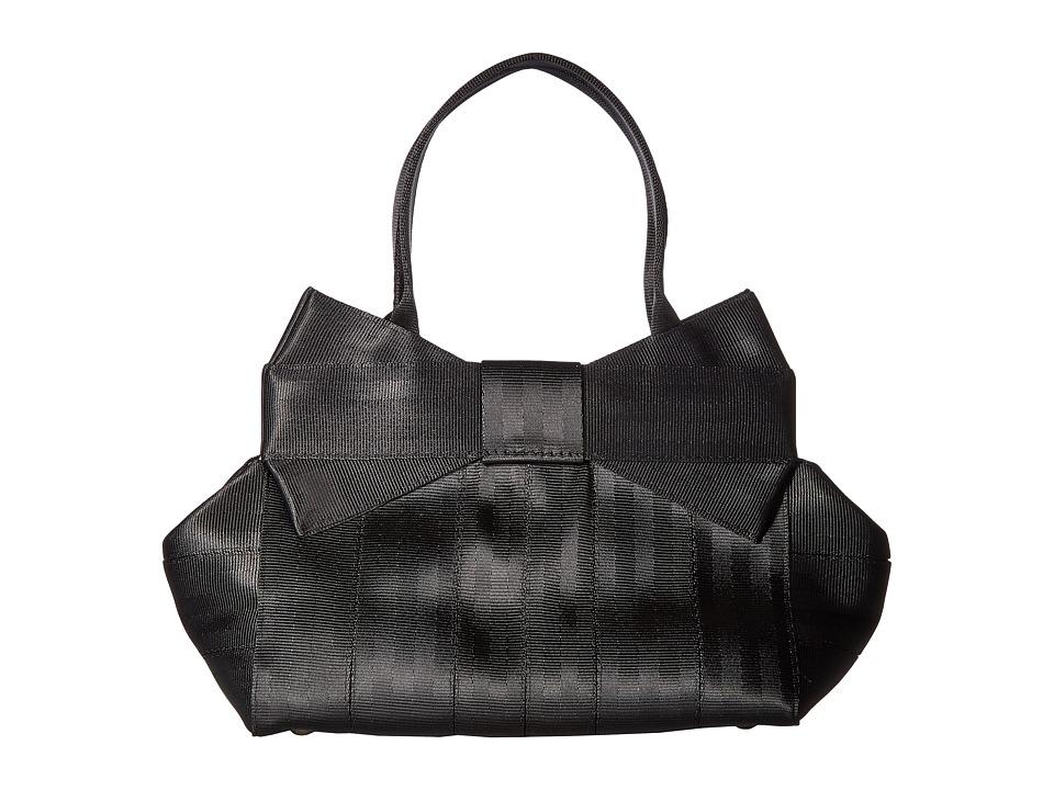 Harveys Seatbelt Bag - Bow Mini (Black) Handbags