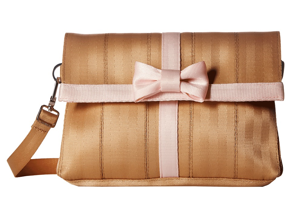Harveys Seatbelt Bag - Present (Camel/Rose Quartz) Handbags
