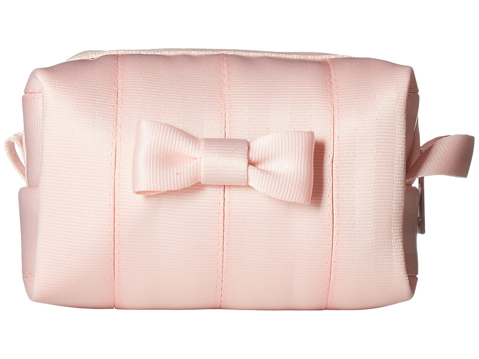 Harveys Seatbelt Bag - Mini Bow Dopp Kit (Rose Quartz) Handbags
