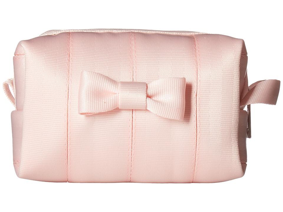 Harveys Seatbelt Bag - Mini Bow Dopp Kit (Rose Quartz) Handbags