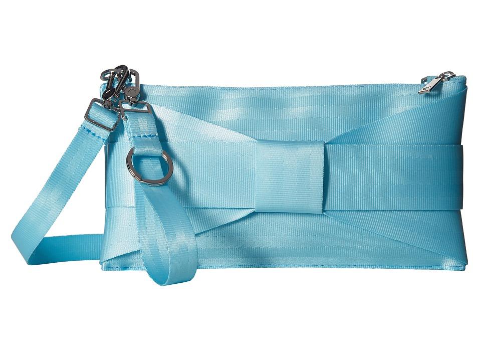 Harveys Seatbelt Bag - Bow Mini Clutch (Robins Egg) Clutch Handbags