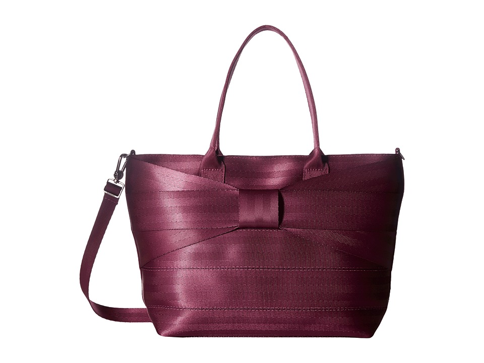 Harveys Seatbelt Bag - Mini Streamline Bow (Plum) Handbags