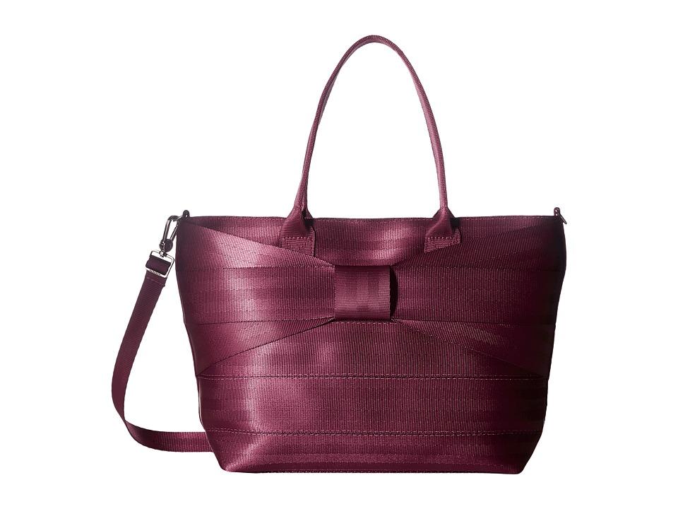 Harveys Seatbelt Bag - Mini Streamline Bow (Plum) Handbags