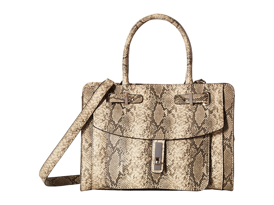 GUESS - Kingsley Small Satchel (Python) Satchel Handbags