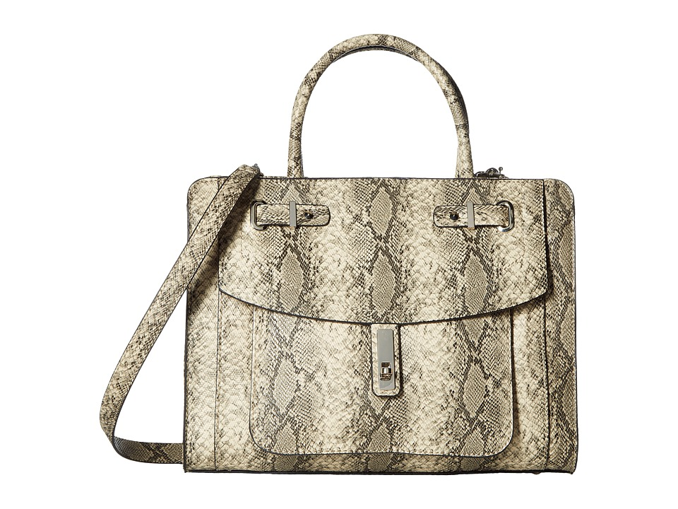 GUESS - Kingsley Girlfriend Satchel (Python) Satchel Handbags