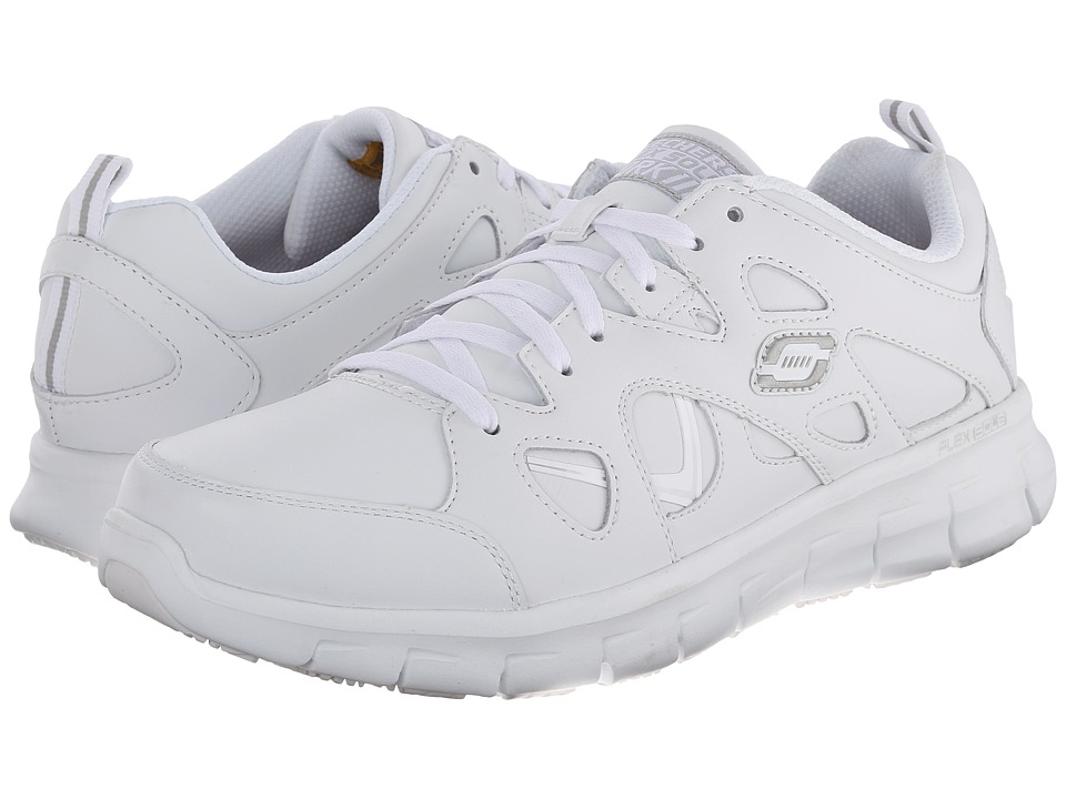 SKECHERS Work Synergy Hosston (White) Men