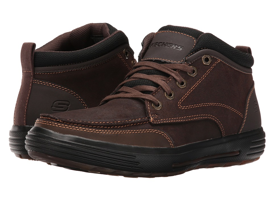 SKECHERS - Porter - Repton (Chocolate) Men's Shoes