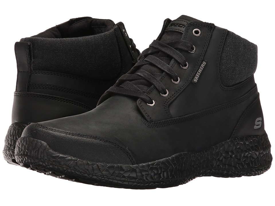 SKECHERS Bursen Teven (Black) Men