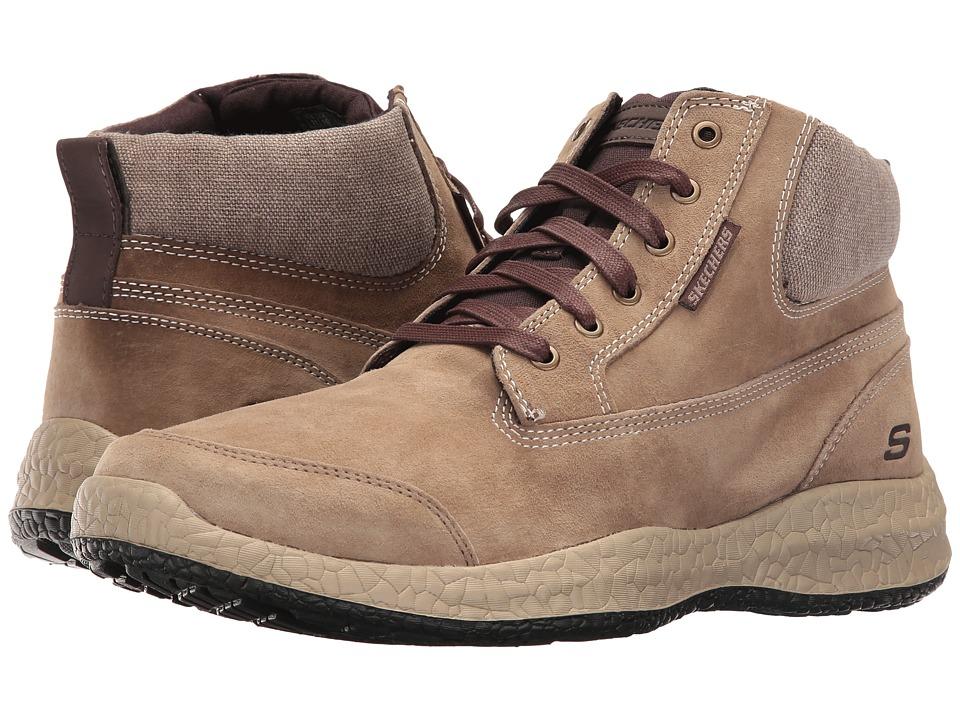 SKECHERS - Bursen - Teven (Light Brown) Men's Shoes