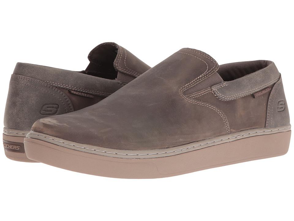 SKECHERS - Palen - Cleren (Dark Taupe) Men's Shoes