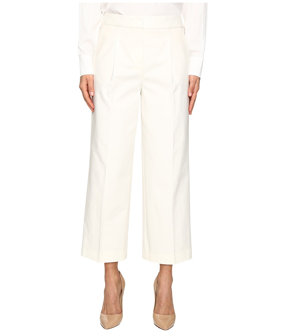 Boutique Moschino - Wide Leg Trousers (Cream) Women's Clothing