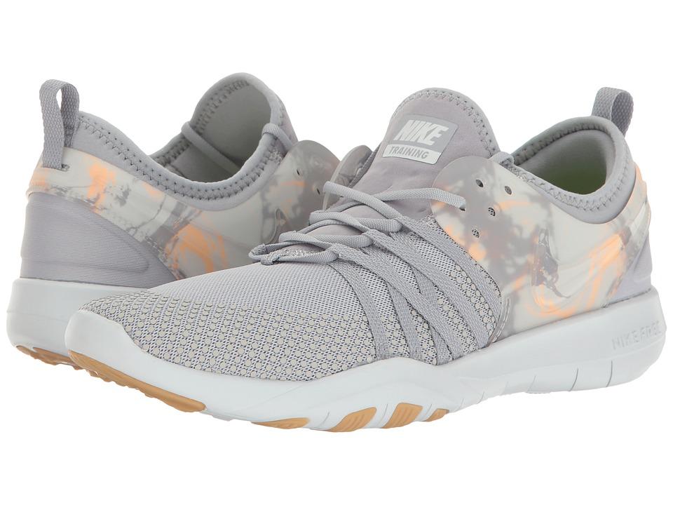 Nike - Free TR 7 (Wolf Grey/Wolf Grey/Pure/Platinum) Women's Cross Training Shoes