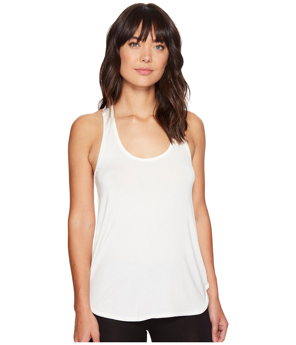P.J. Salvage - Lace Back Tank Top (Natural) Women's Sleeveless