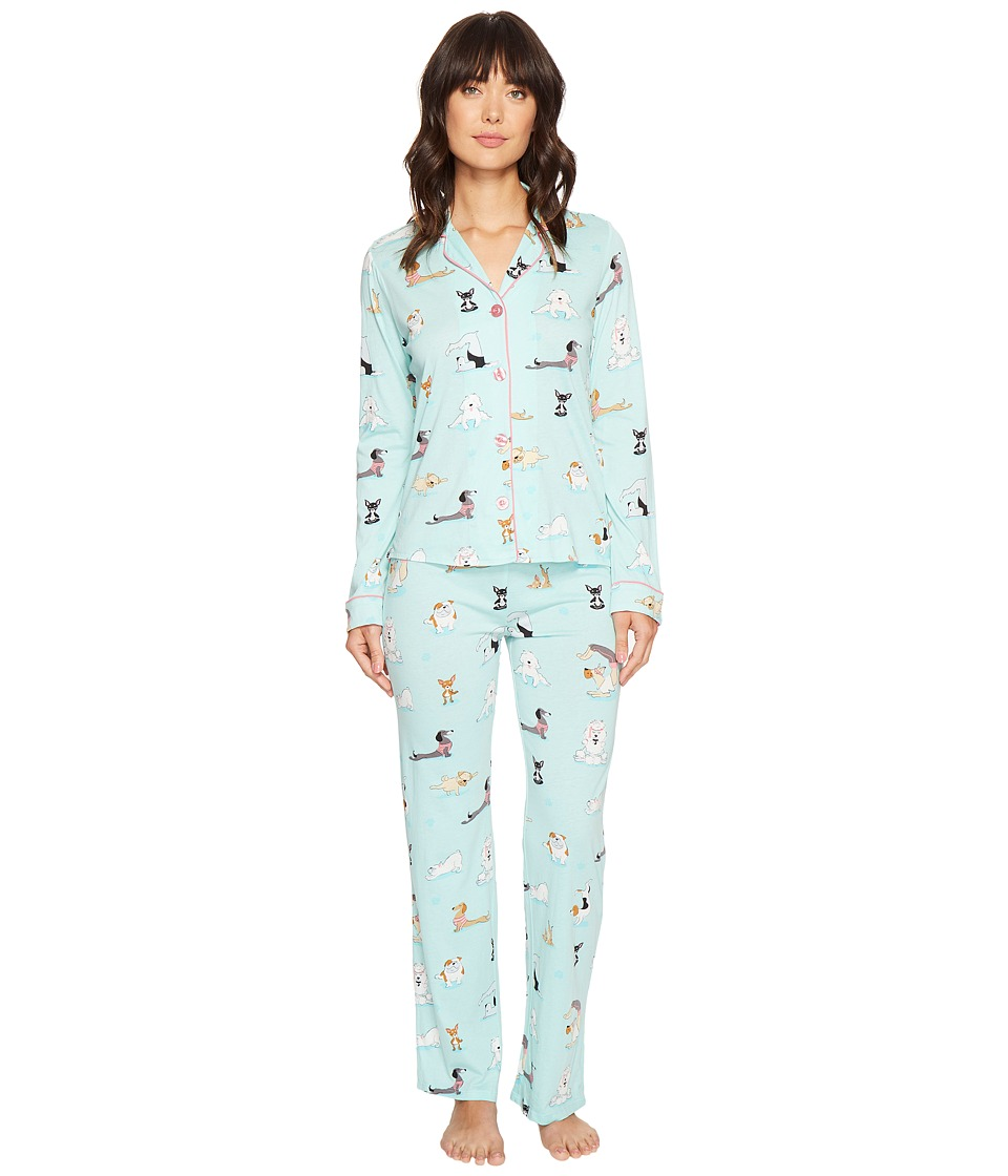 P.J. Salvage - Feeling Zen Pj Set (Seafoam) Women's Pajama Sets