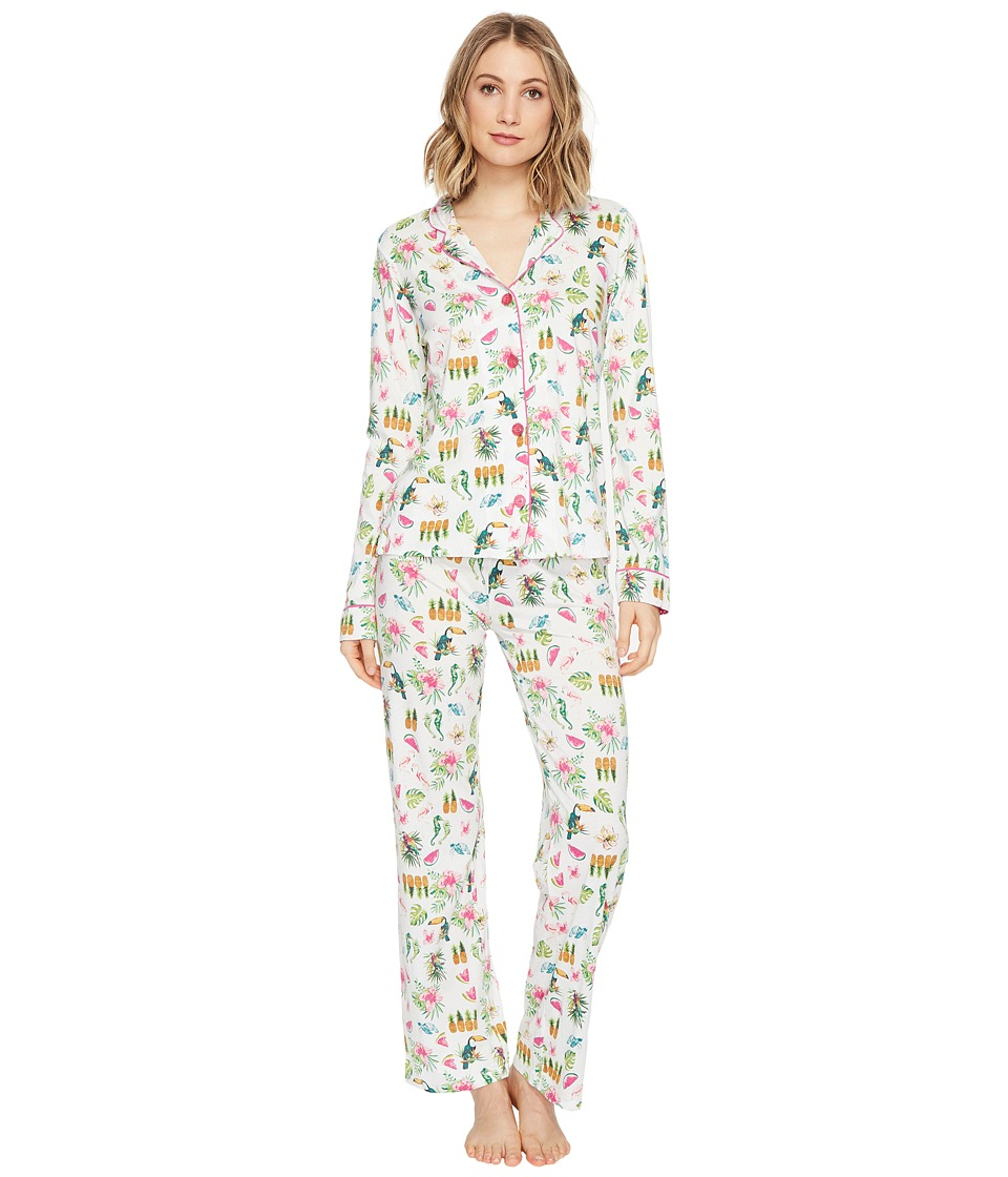 P.J. Salvage - On Vacay PJ Set (Ivory) Women's Pajama Sets