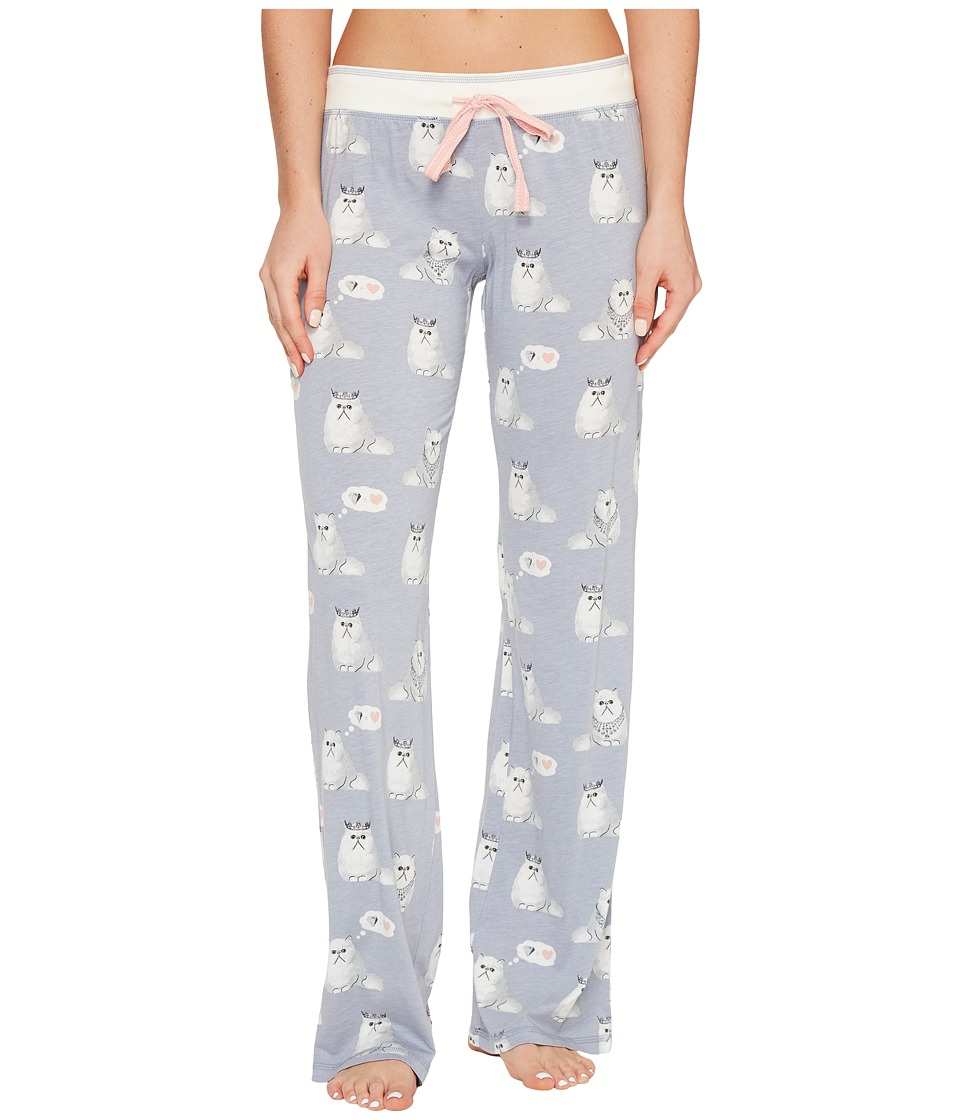 P.J. Salvage - Purrty Tired PJ Pants (Dove) Women's Pajama