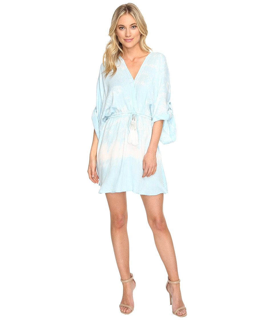 Young Fabulous & Broke - Charlotte Dress (Sky Border) Women's Dress