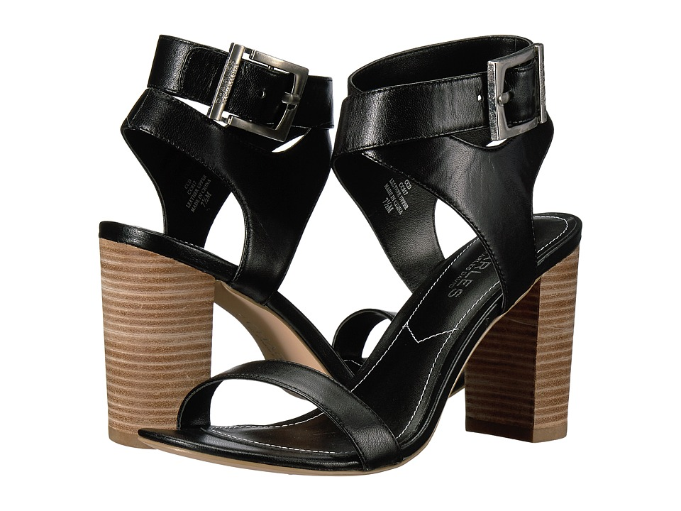 Charles by Charles David - Eddie (Black Leather) High Heels