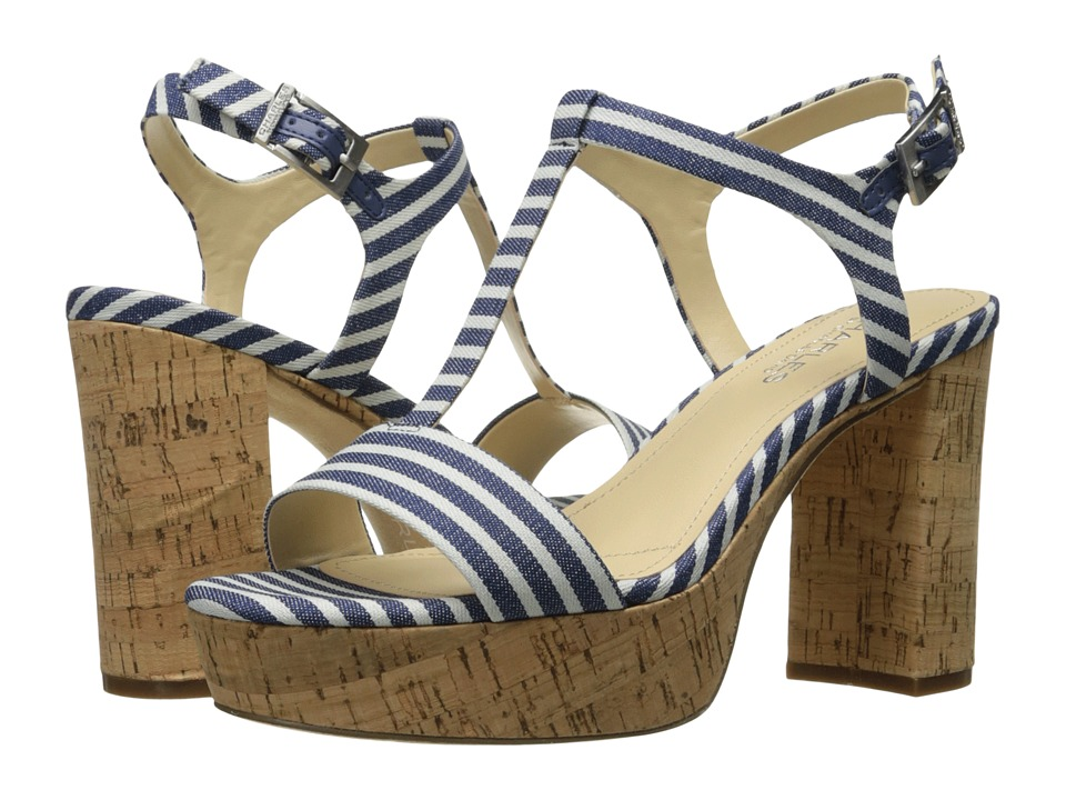 Charles by Charles David - Miller (Navy Stripped Cloth) Women's Shoes