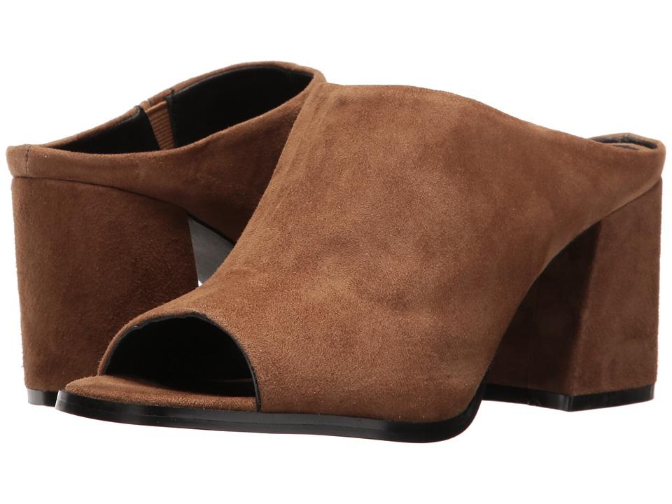 Sol Sana - Marc Mule (Cognac Suede) Women's Clog/Mule Shoes