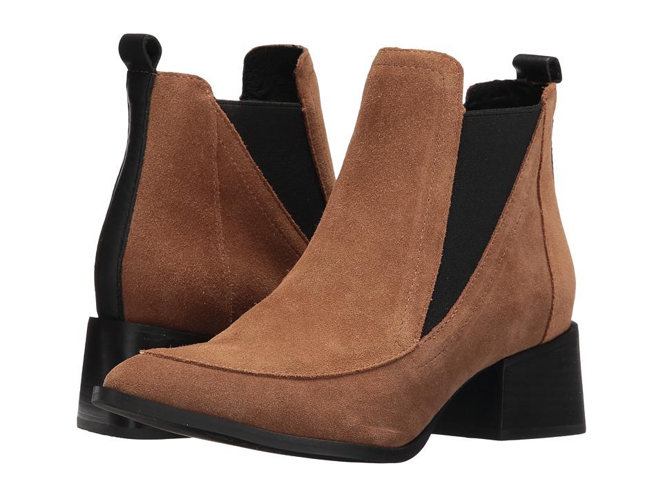 Sol Sana - Rico Boot (Cognac Suede) Women's Boots