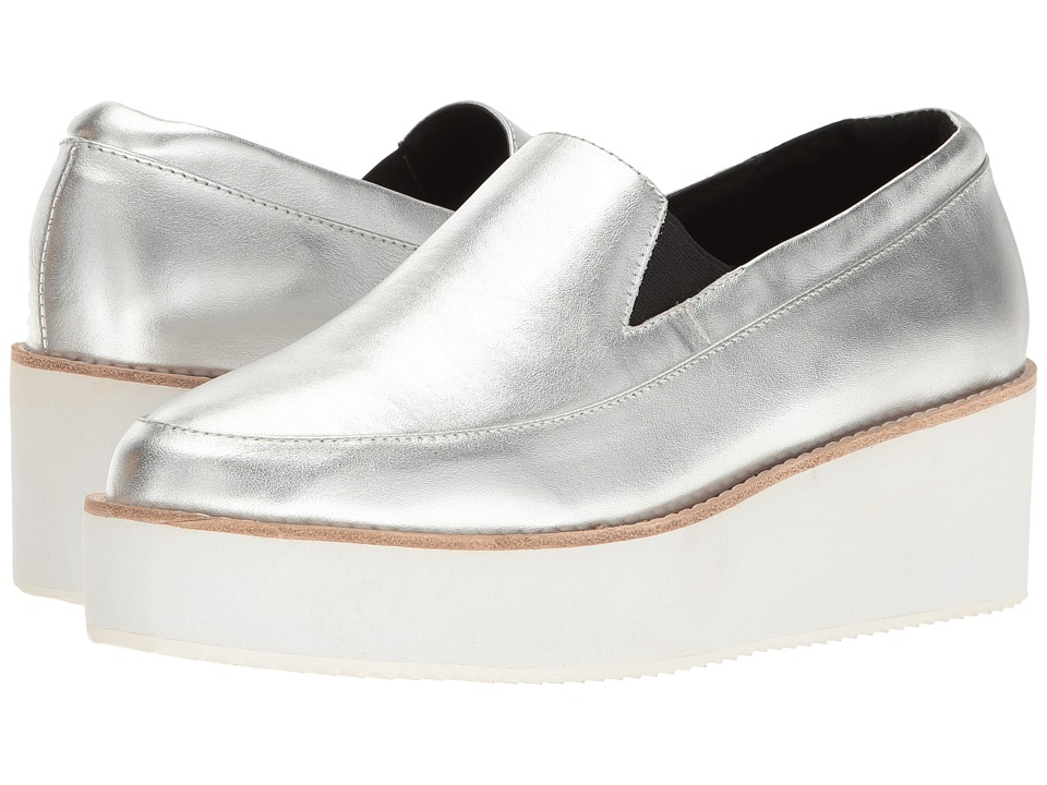 Sol Sana - Tabbie Wedge (Silver) Women's Wedge Shoes