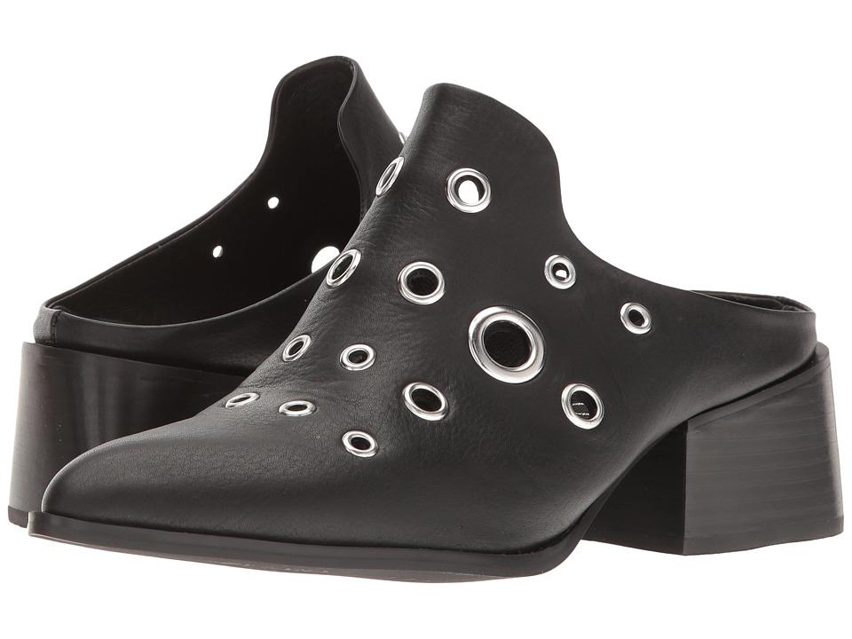 Sol Sana - Clarice Mule (Black Eyelet) Women's Clog/Mule Shoes