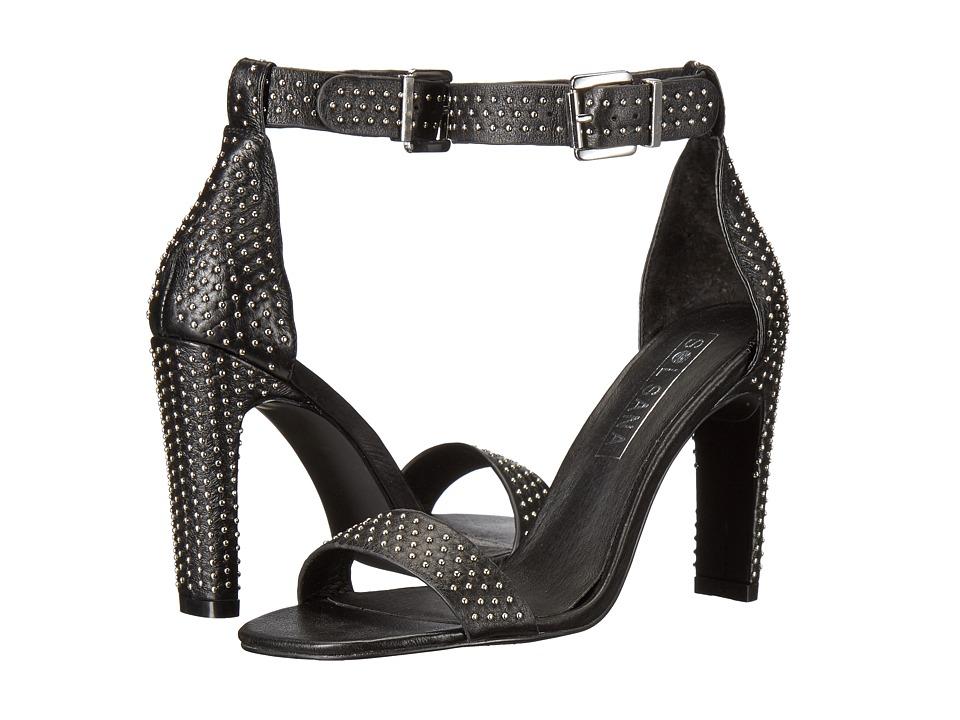Sol Sana - Page Heel (Black/Silver Stud) High Heels