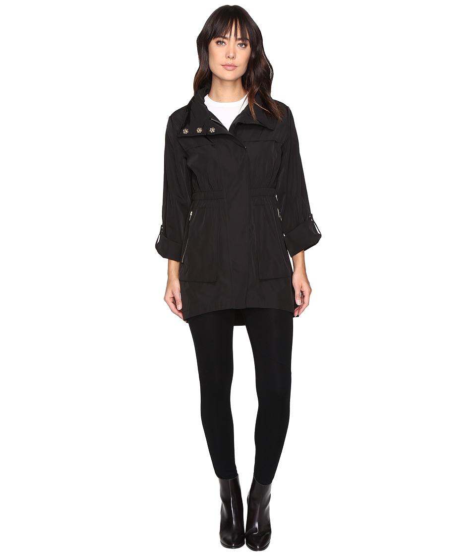Donna Morgan - Anorak Jacket (Black) Women's Coat