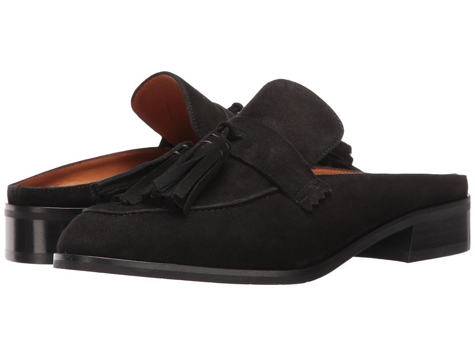 Aquatalia - Stella (Black Suede) Women's Shoes