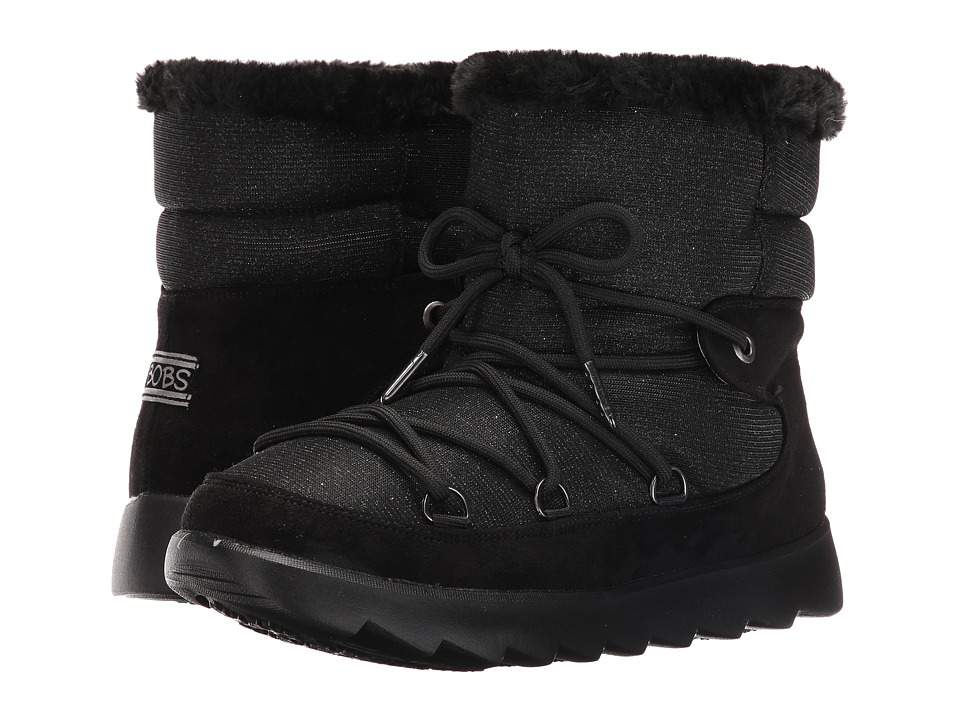 BOBS from SKECHERS Mementos Snowcap (Black) Women