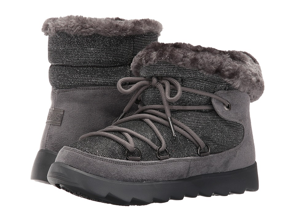 BOBS from SKECHERS Mementos Snowcap (Charcoal) Women