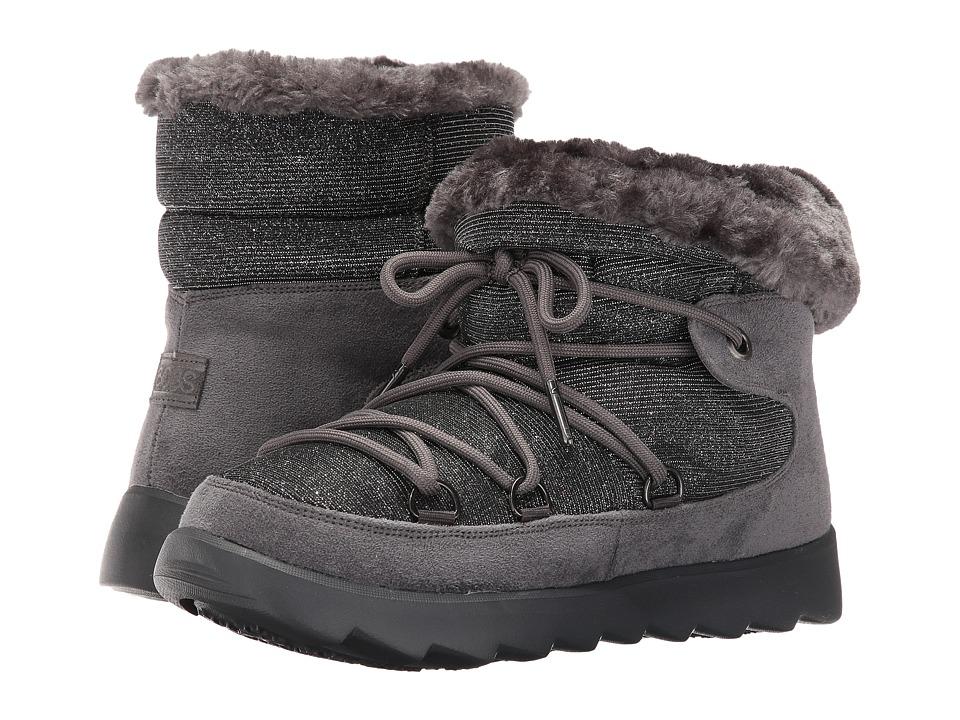 BOBS from SKECHERS - Mementos - Snowcap (Charcoal) Women's Shoes