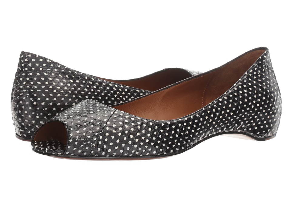 Aquatalia - Camille (Black Snake) Women's Shoes