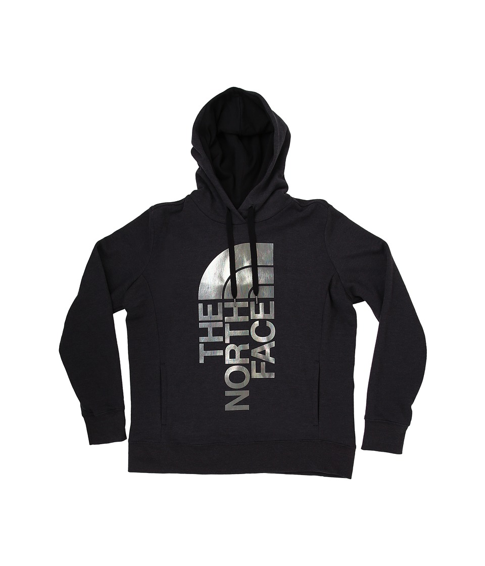 The North Face - Trivert PO Hoodie (TNF Black Heather) Women's Long Sleeve Pullover