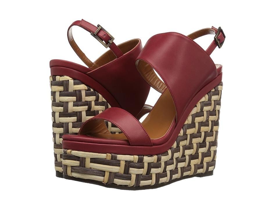 Aquatalia - Carmela (Red Calf) Women's Shoes