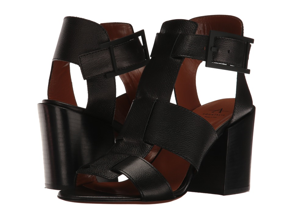 Aquatalia - Freesia (Black Grainy Calf) Women's Shoes