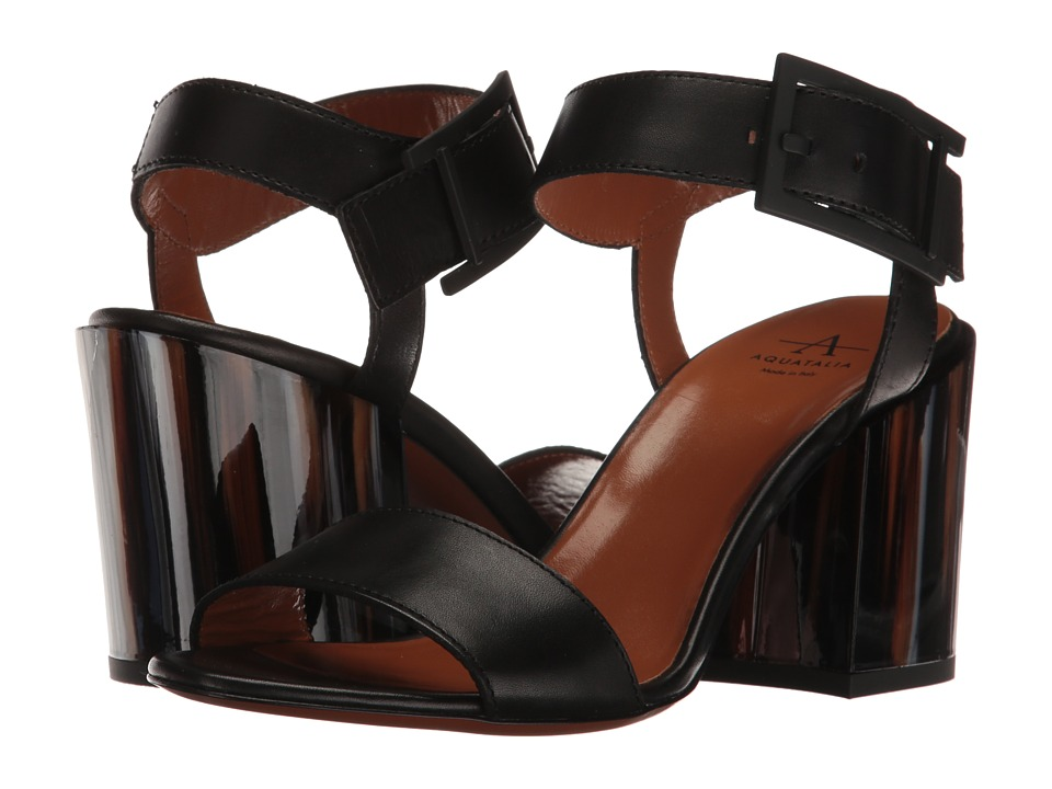 Aquatalia Fredia (Black Calf) Women