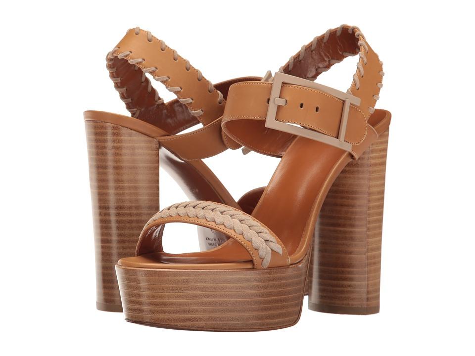 Aquatalia - Isabella (Tan/Sand Calf) Women's Shoes