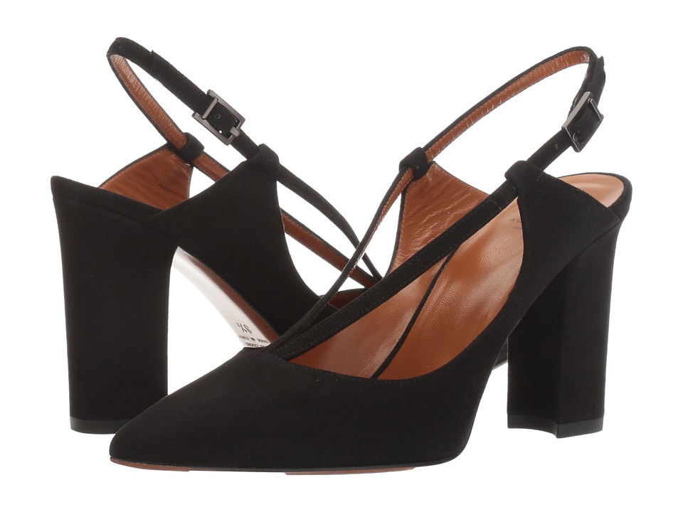 Aquatalia - Hartley (Black Suede) Women's Shoes