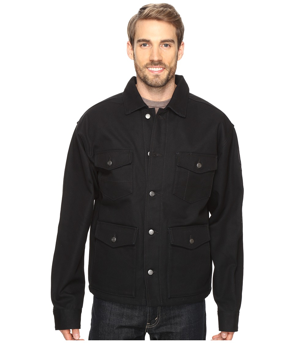 Cinch - Lined Canvas Jacket (Black) Men's Coat