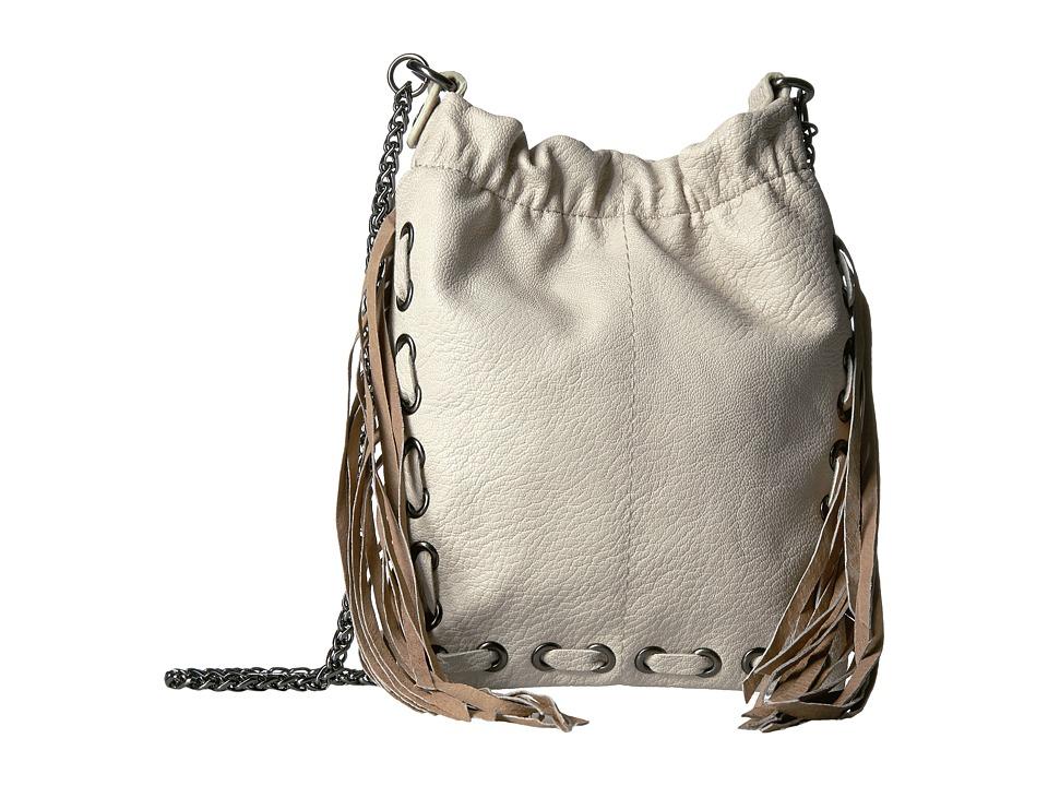 Circus by Sam Edelman - Neal Fringe Crossbody (White) Cross Body Handbags