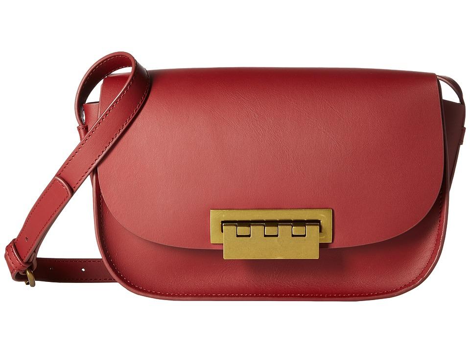 ZAC Zac Posen - Eartha Iconic Accordion (Cardinal) Satchel Handbags