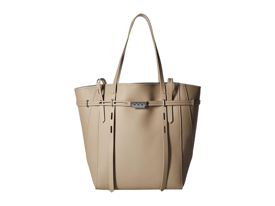 ZAC Zac Posen - Eartha Belted Shopper (Malt) Satchel Handbags