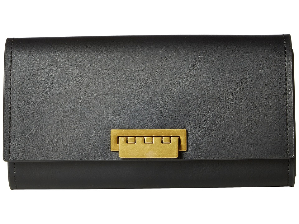 ZAC Zac Posen - Eartha Wallet (Black) Wallet Handbags