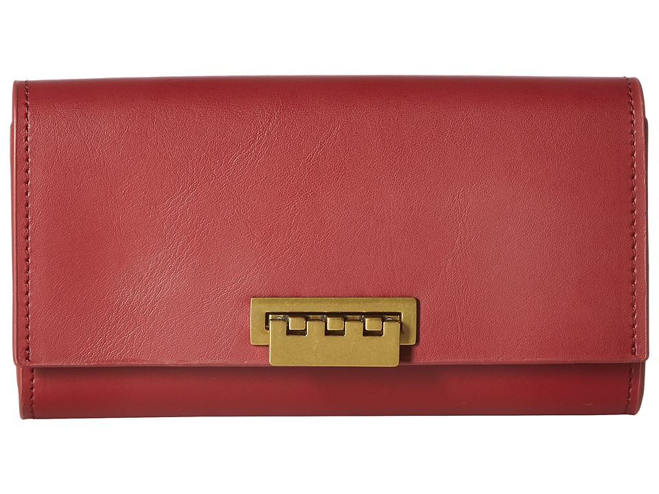 ZAC Zac Posen - Eartha Wallet (Cardinal) Wallet Handbags
